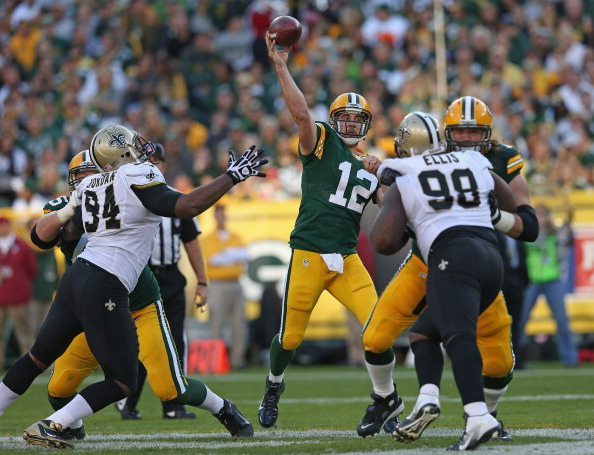 Packers Overcome Another Blown Call; Top Saints 28-27
