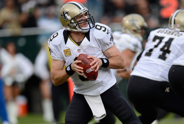 Photo Gallery of the Saints Win Over the Raiders in Oakland Sun…