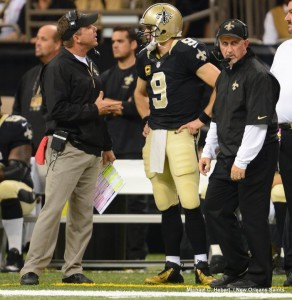 Payton and Brees Plan on Having a Better game at the Dome