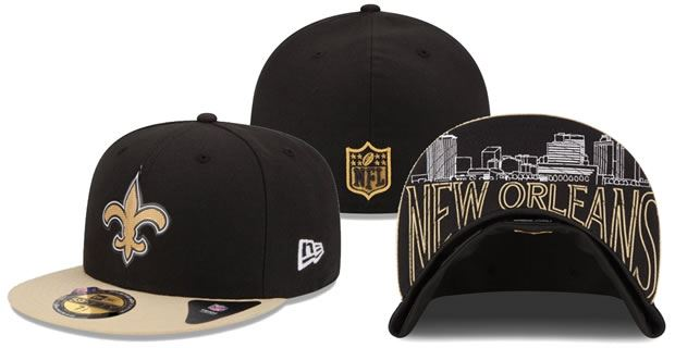 Check Out What The Saints 2015 Draft Hats Look Like - Saints Gab 2d4e7afc33b