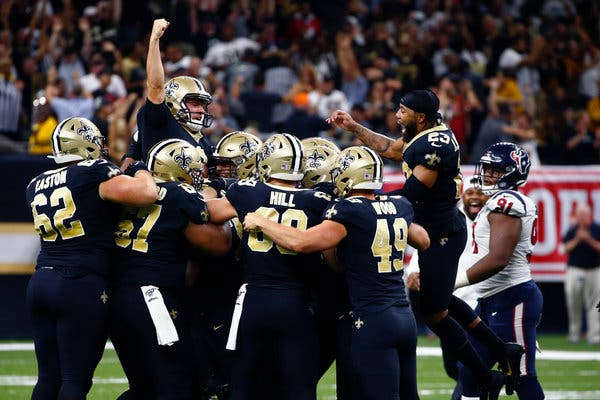 Video Highlights Of The Saints 30 28 Win Over The Texans